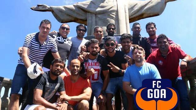 Jogadores indianos do time de Zico têm dia de turista no Rio de Janeiro