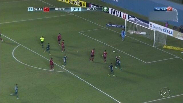 Em confronto de ameaçados, Goiás supera o Oeste e ganha respiro na Série B