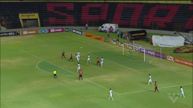Santos FC perde para Sport em Recife