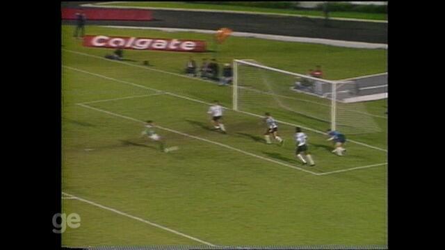 Grêmio e Palmeiras empatam em 1x1 pela Copa do Brasil de 93