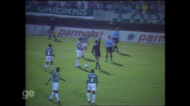 Grêmio empata com o Palmeiras em 2x2 e se classifica na Copa do Brasil de 95