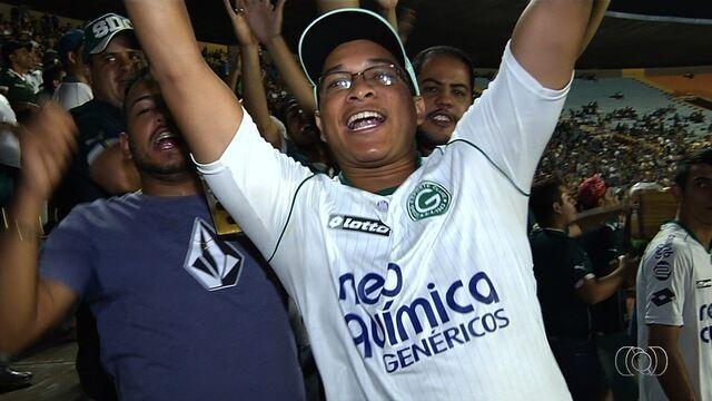 Torcida do Goiás está otimista para jogo contra o Paraná
