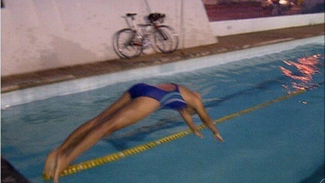 Nadadores encararão uma grande maratona nas águas da Praia da Graciosa
