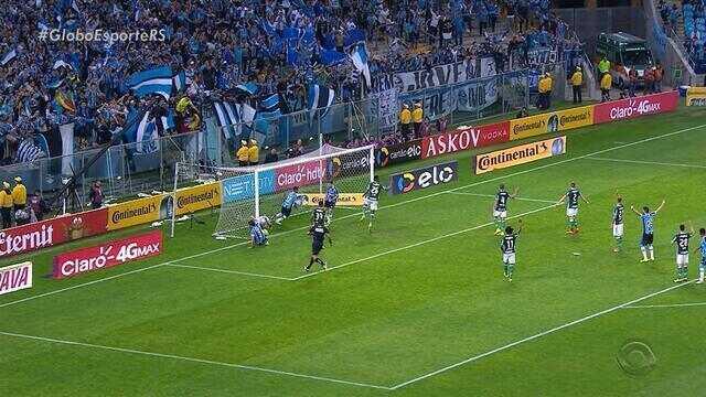 Grêmio vence o Palmeiras por 2 a 1 pela Copa do Brasil