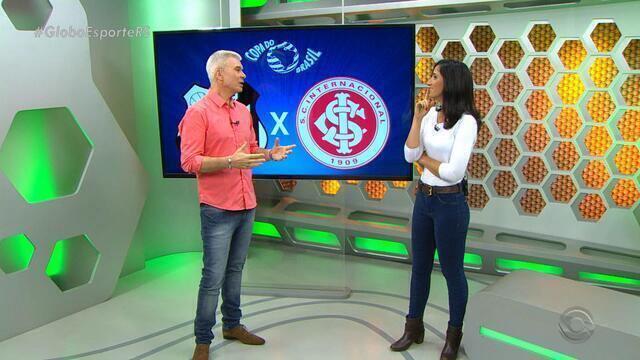 Maurício Saraiva fala sobre a atuação do Inter contra o Santos