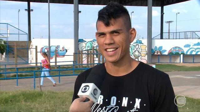 """Artilheiro da série B do estadual abre o jogo no quadro """"Na Lata"""""""