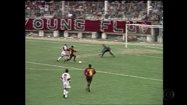 Baú do Esporte relembra vitórias do Sport contra o Fluminense na casa do adversário