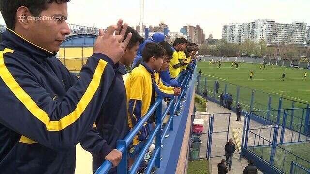 Conheça a escolinha de futebol do Boca Juniors