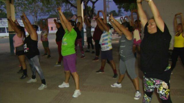 Aulões de ginástica e dança gratuitos são oferecidos em Santarém