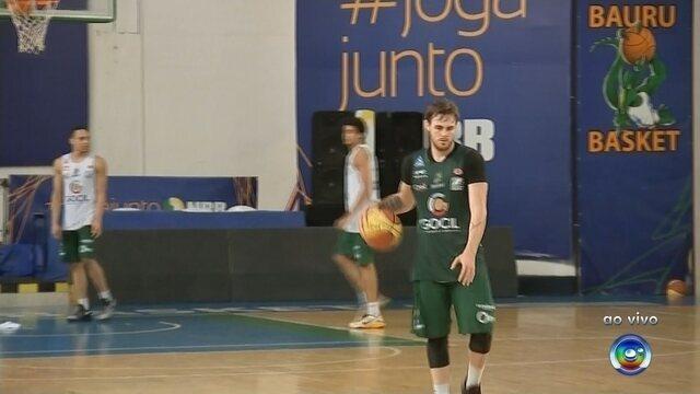 Bauru Basket segue preparação para segundo jogo da final do Paulista