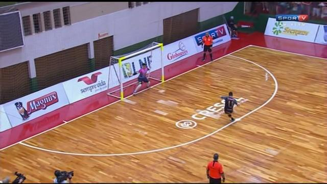 Marechal permite virada e perde vaga na final da Liga Nacional de Futsal