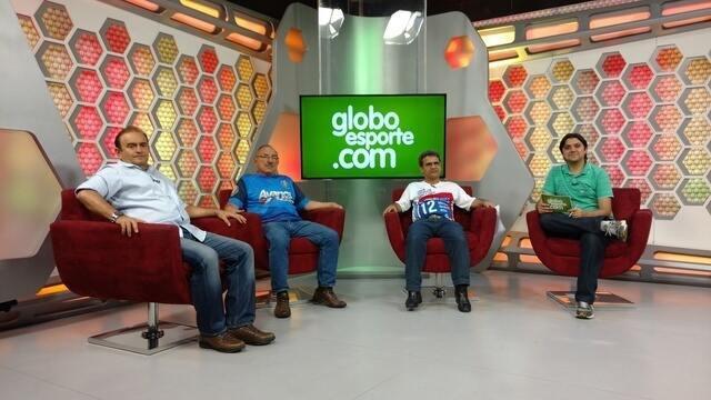 Em debate, Alexandre Borges, Jorge Mota e Renan Vieira discutem futuro do Fortaleza.