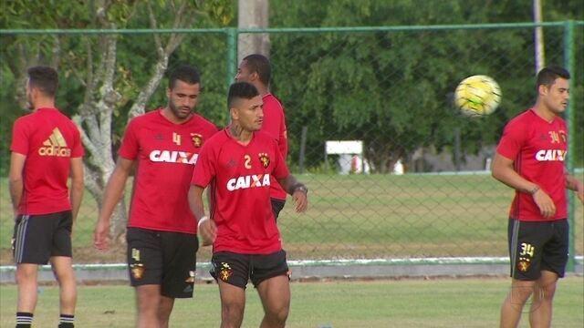 Com retorno de Rogério, Sport continua preparação para partida decisiva