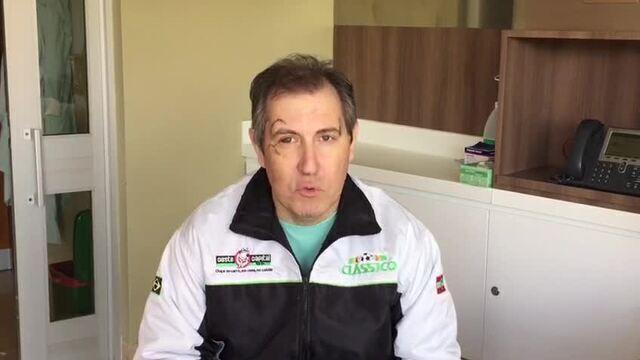 Rafael Henzel agradece solidariedade do povo colombiano e apoio dos brasileiros
