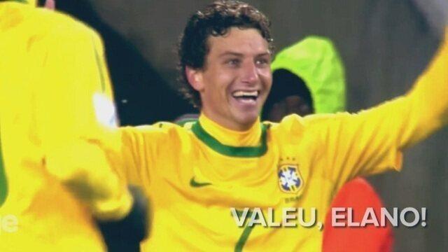 Blog do Caio: Robinho, Neymar, Kaká e companhia homenageiam Elano