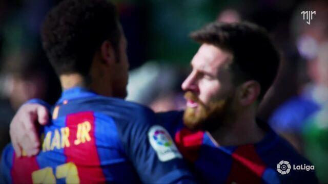 La Liga - Jornada 20 - Betis 1 x 1 FC Barcelona