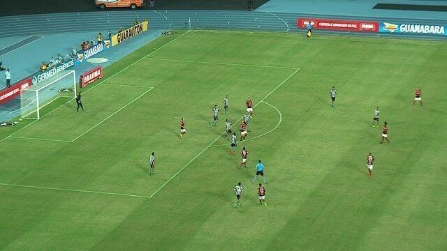 Melhores momentos: Botafogo 1 x 2 Flamengo pela 4ª rodada do Campeonato Carioca