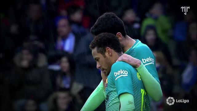 La Liga - Jornada 22 - Alavés 0 x 6 FC Barcelona