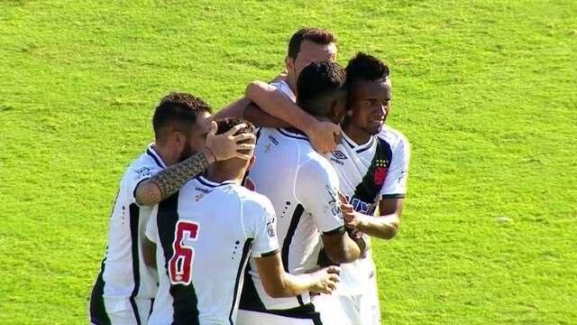 O gol de Vasco 1 x 0 Portuguesa-RJ pela 5ª rodada da Taça Guanabara