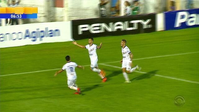 Confira os gols da partida entre Veranópolis 1 x 1 Cruzeiro