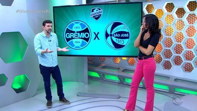 Diogo Olivier comenta desempenho do Grêmio em jogo contra o São José