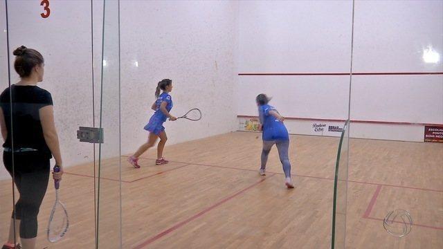 Torneio de squash reúne mais de 100 competidores em Campo Grande