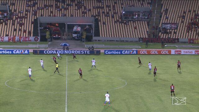 Moto empata com o Fortaleza no Castelão, pela Copa do Nordeste