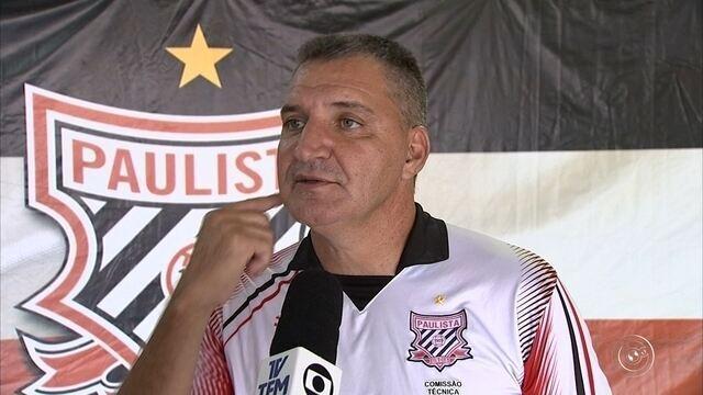 Paulista anuncia Sérgio Caetano como novo técnico