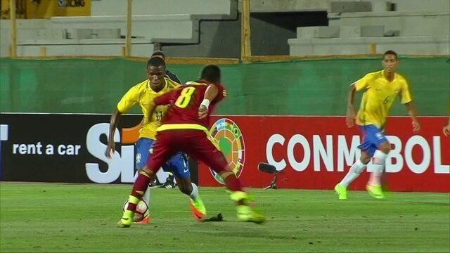 BLOG: Paulinho rouba a cena no início do Sul-Americano Sub-17 e decide para o Brasil