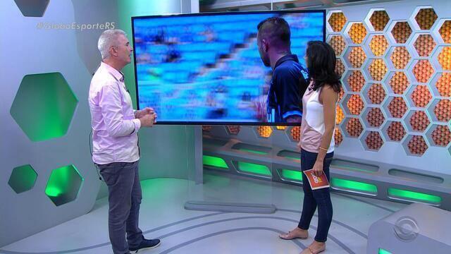 Maurício Saraiva fala sobre desempenho do Grêmio em partida contra o Cruzeiro