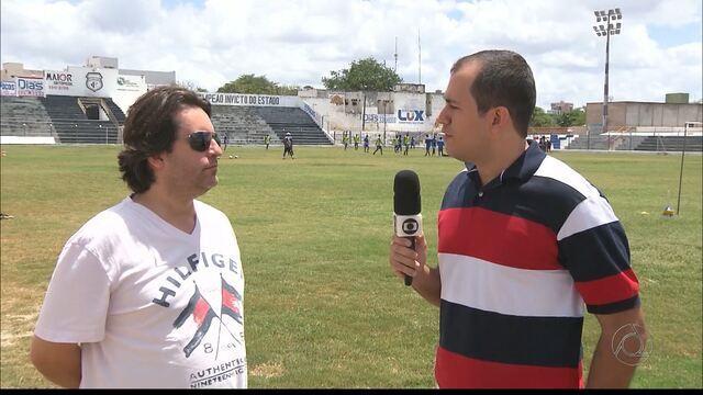 Treze confirma a saída do técnico Leocir Dall'Astra