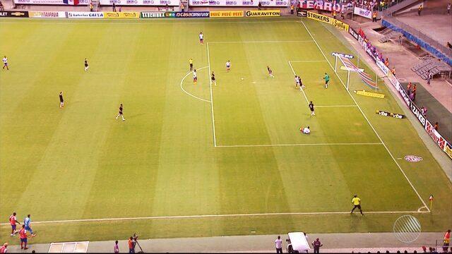Renato Cajá deixa o Bahia após se recusar a entrar em campo durante jogo