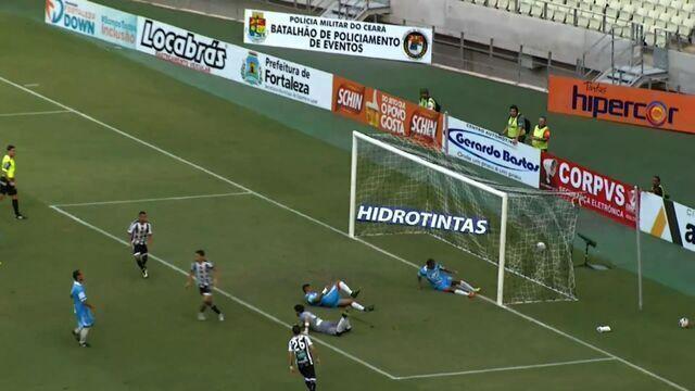 Goool do Ceará! Victor Rangel toca para Magno Alves, que tira do goleiro e faz o gol