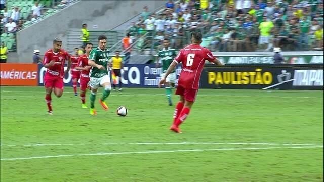Os gols de Palmeiras 2 x 2 Audax pela 11ª rodada do Campeonato Paulista