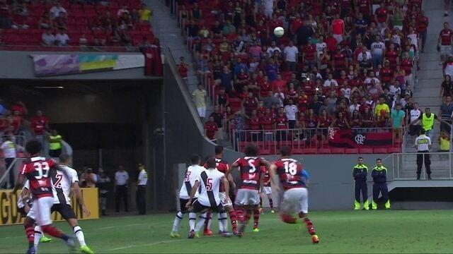 Os gols de Flamengo 2 x 2 Vasco pelo Campeonato Carioca
