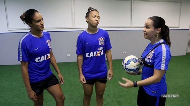 Vai, Corinthians - Marisa, campeã de freestyle, faz desafio as jogadoras do Corinthians