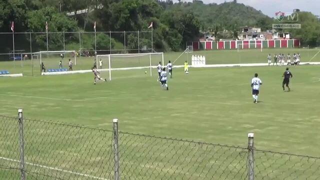 Confira os gols de Fluminense 5 x 1 Macaé pela Taça Guanabara Sub-20