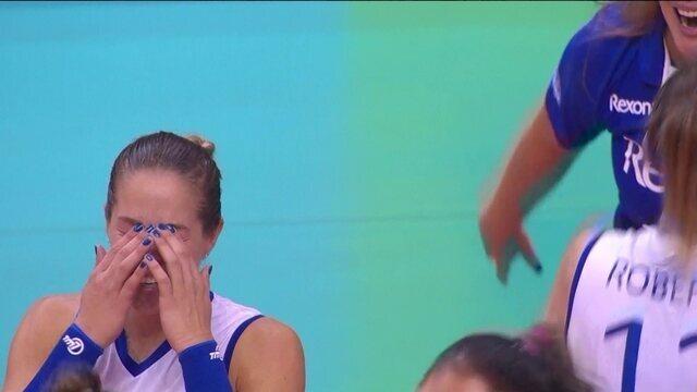 Melhores finais de Rio de Janeiro 3 x 2 Osasco pela final da Superliga feminina de vôlei