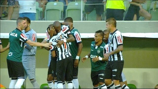 Veja os gols da vitória do Atlético-MG sobre a URT