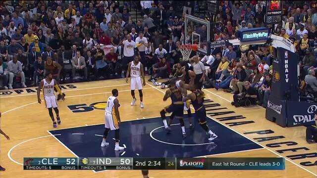 Melhores momentos: Cleveland Cavaliers 106 x 102 Indiana Pacers pela NBA
