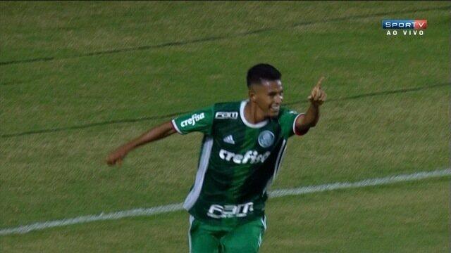 Goool do Palmeiras! Juninho marca para o Verdão diante do Criciúma