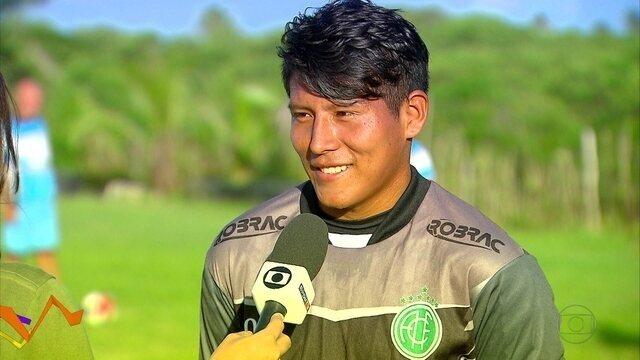 Goleiro boliviano que veio ao Brasil jogar no Corinthians errado acabou no América-PE