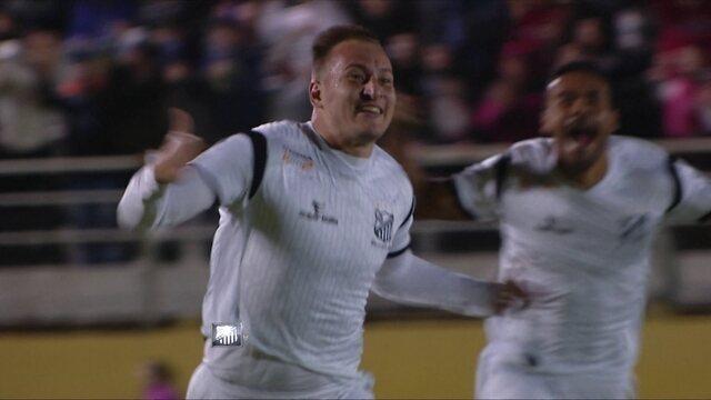O gol de Bragantino 1 x 0 Água Santa pela semifinal da Série A2 do Campeonato Paulista
