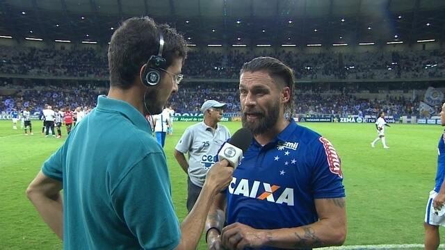 Rafael Sobis considera empate, no Mineirão, como injusto