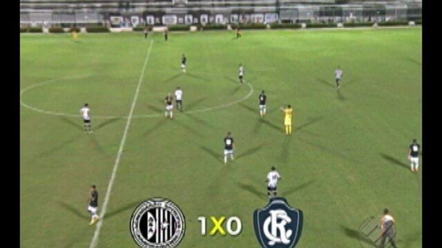 Remo perde seu primeiro jogo na Série C do Brasileiro para o ASA