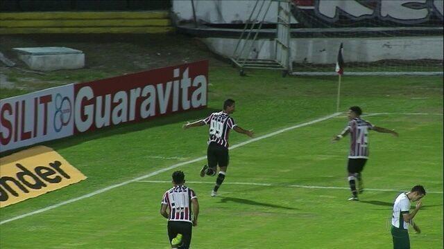 Santa Cruz vence o Guarani e segue 100% na Série B