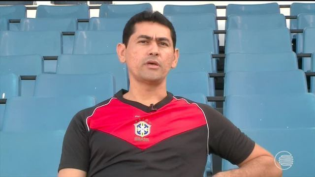 Árbitro piauiense fala sobre sua carreira, final da Copa do Nordeste e gol anulado
