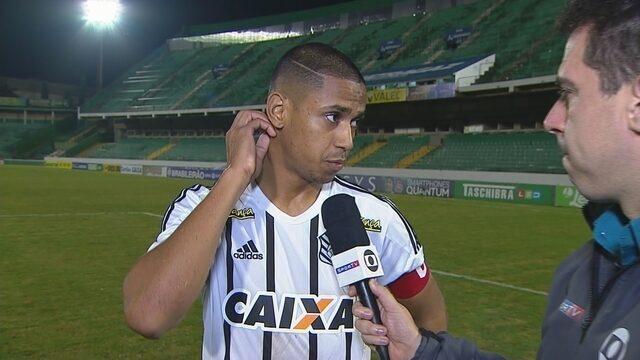 Bruno Alves lamenta derrota, mas vira a página e projeta próximo jogo