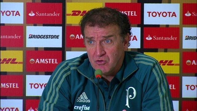 Veja trechos da entrevista do técnico Cuca após a vitória do Palmeiras sobre o Tucumán