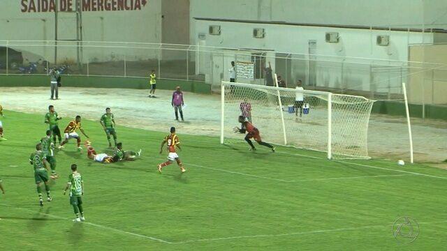 Sousa empata com o Juazeirense na Bahia e se mantém na liderança da Série D